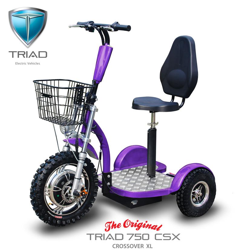 Triad 750 CSX 03 CSX Purple